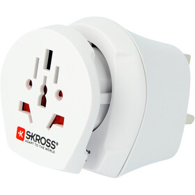 SKROSS Combo Steckeradapter World to UK